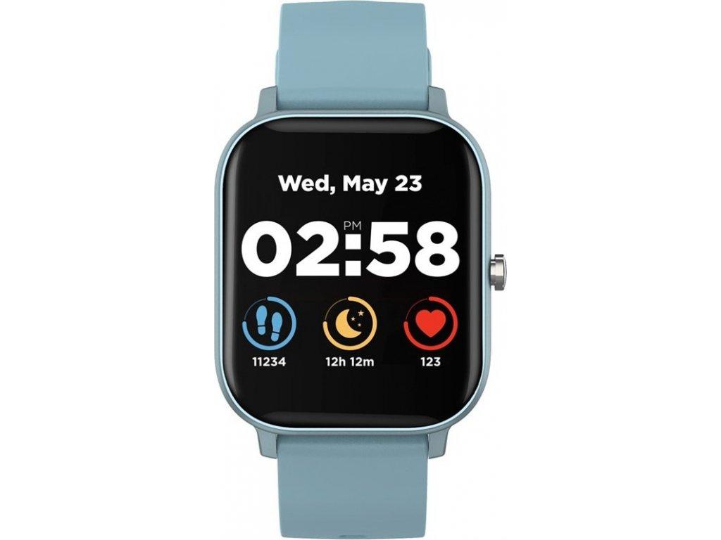 Chytré hodinky Canyon Wildberry - modrý