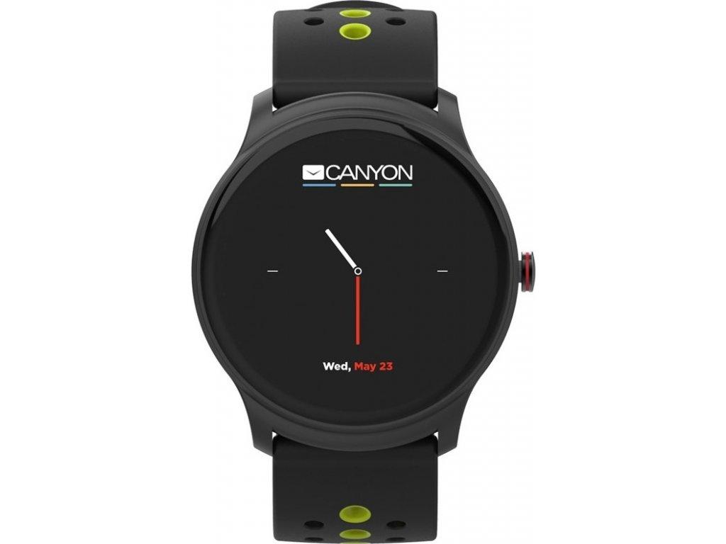 Chytré hodinky Canyon Oregano - černý/zelený