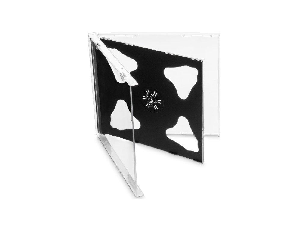 Obal Cover IT pro 2 CD, 10mm - černý (10ks/bal)