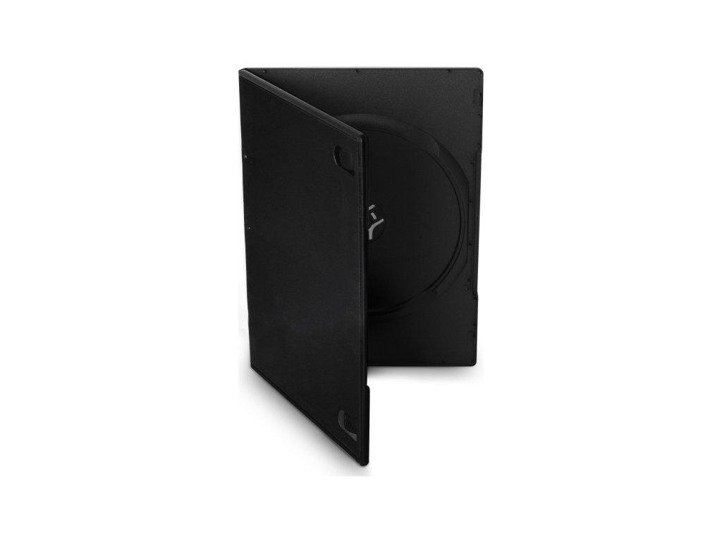 Obal Cover IT pro 1 DVD slim 7mm - černý (10ks/bal)