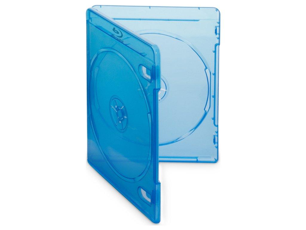Box Cover IT na 2ks Blu-ray médií/ 11mm/ modrý/ 10pack