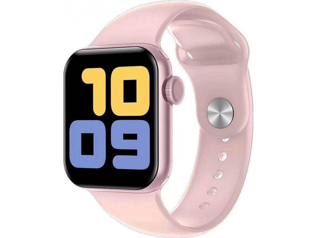 Chytré hodinky Carneo Gear+ CUBE - růžové