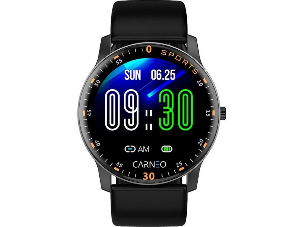 Chytré hodinky Carneo Gear+ platinum - černá