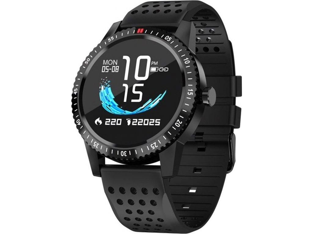 Chytré hodinky Carneo Gear+ sport - černá