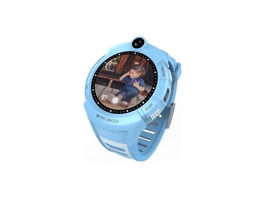 Chytré hodinky Carneo GuardKid+ GPS dětské - modré