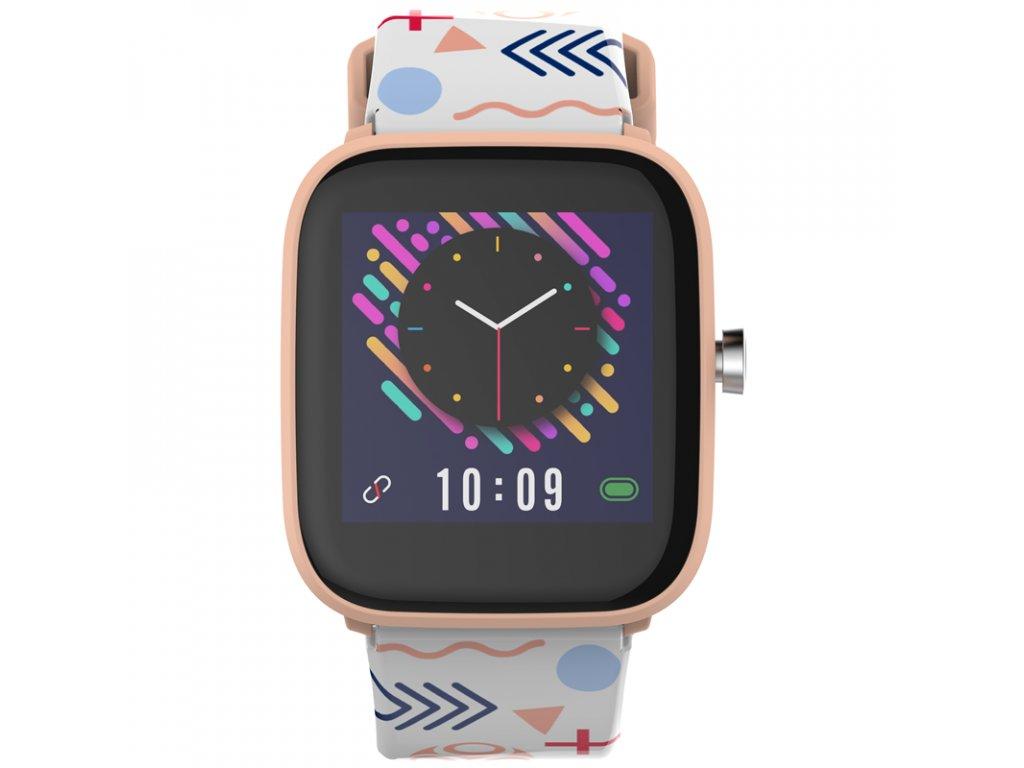 Chytré hodinky Carneo TIK@TOK HR girl