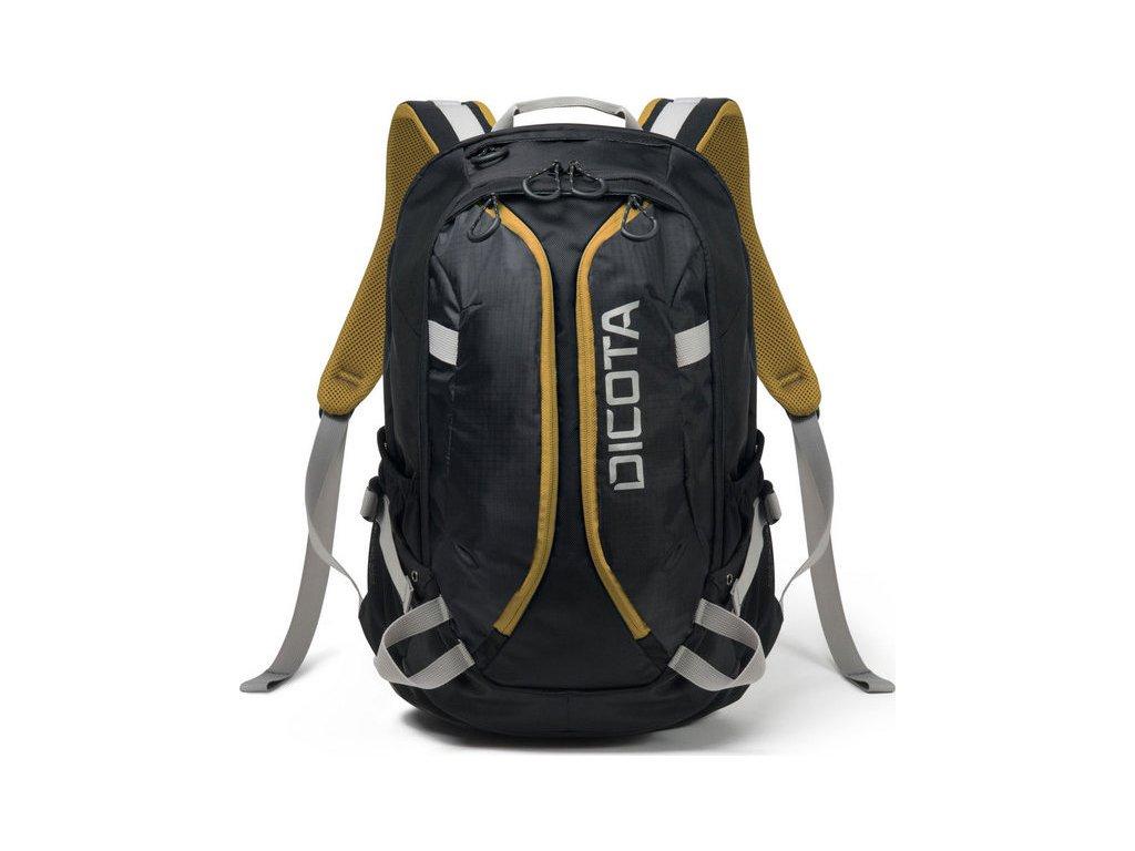 Batoh na notebook DICOTA Active pro 14-15,6'' - černý/žlutý