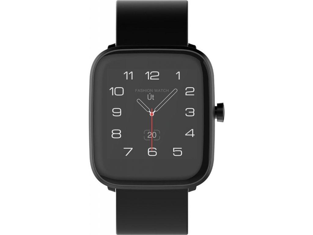 Chytré hodinky iGET FIT F25 - černé, 2x řemínek