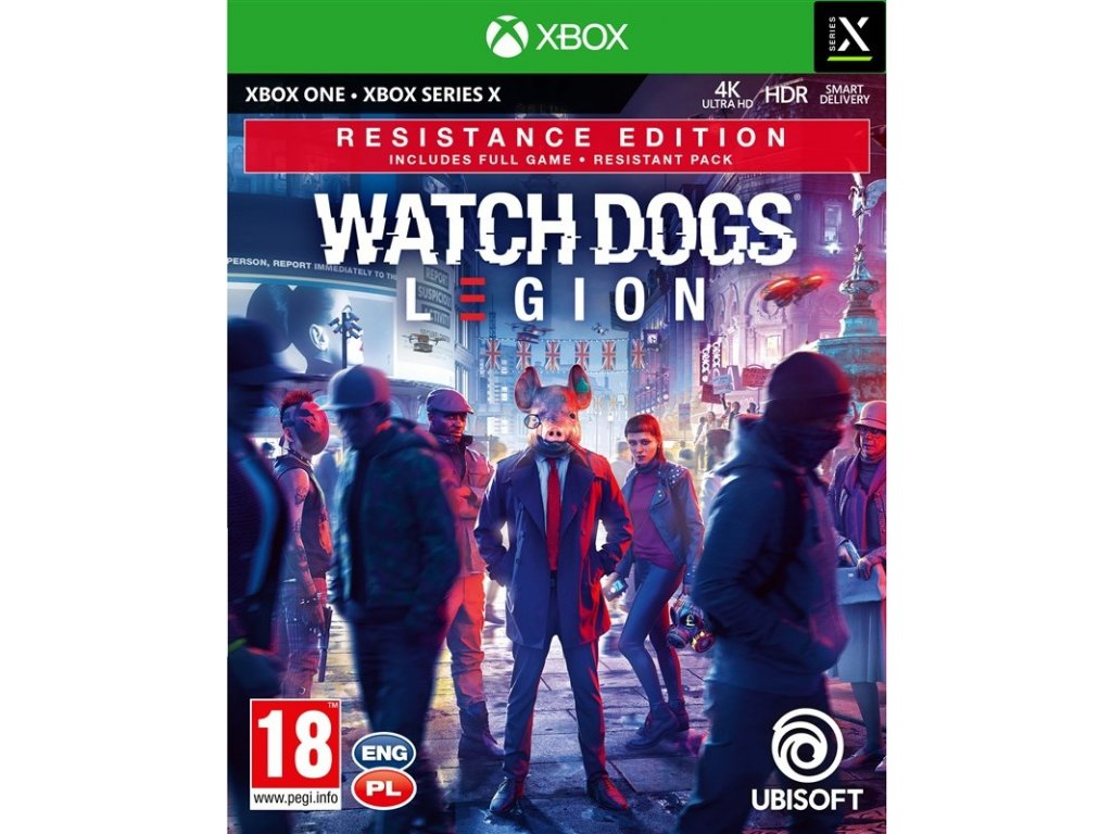 Hra Ubisoft Xbox One Watch Dogs Legion Resistance Edition