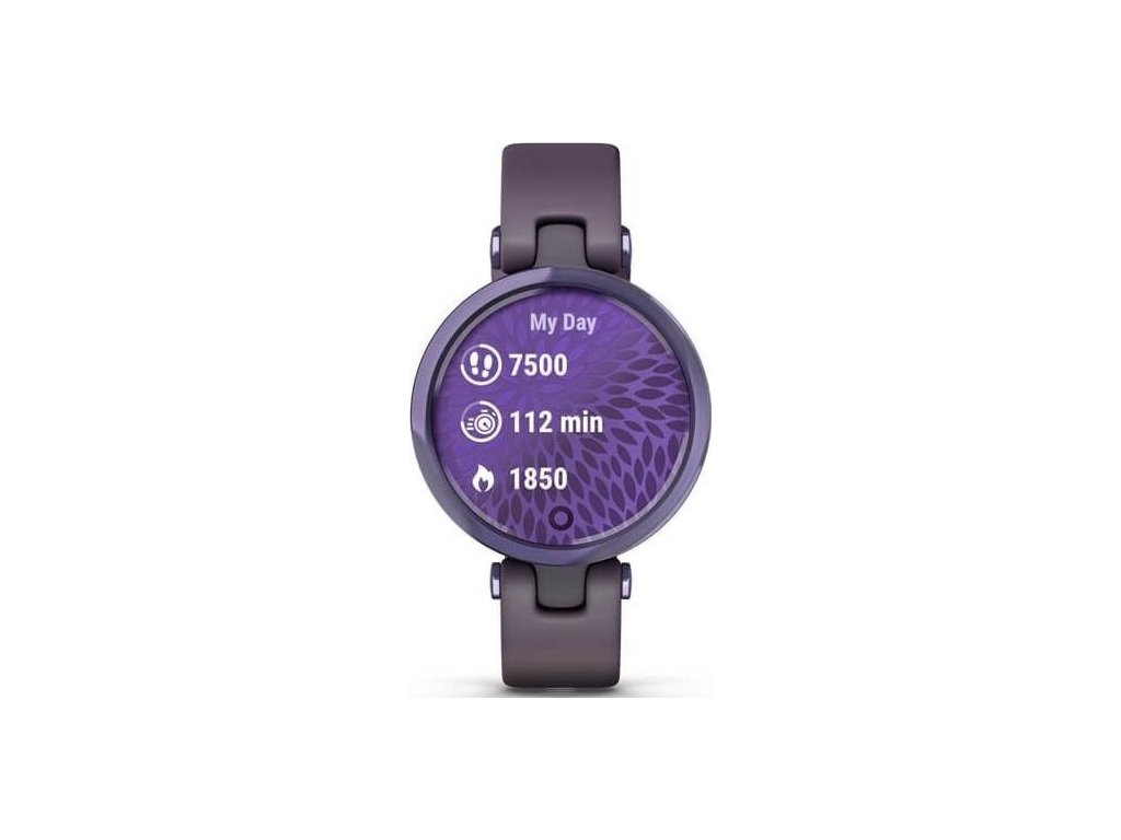 Chytré hodinky Garmin Lily Sport Midnight Orchid / Orchid Silicone Band