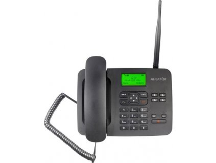 Domácí telefon Aligator T100 (stolní) - černý