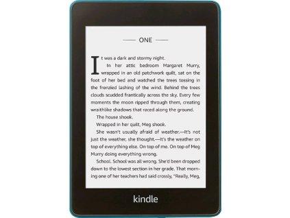 Čtečka e-knih Amazon Kindle Paperwhite 4 2018 s reklamou - modrá