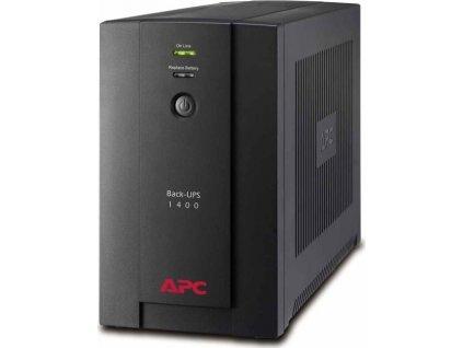 Záložní zdroj APC Back-UPS 1400VA, 230V, AVR, IEC Sockets