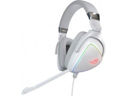 Headset Asus ROG Delta - bílý