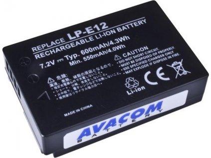 Baterie Avacom Canon LP-E12 Li-Ion 7,4V 600mAh