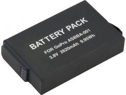 Baterie Avacom GoPro ASBBA-001 Li-Ion 3.8V 2620mAh 9.95Wh
