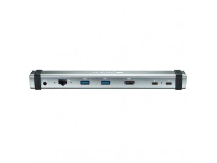 Dokovací stanice Canyon USB-C, HDMI, USB 3.0, RJ45, 3,5mm Jack