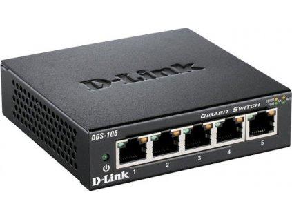 D-LINK 10/100/1000 5-p. switch (DGS-105)
