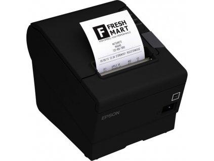 Tiskárna pokladní Epson TM-T88V pokladní, termální, RS232, USB, 300 mm/s - černá