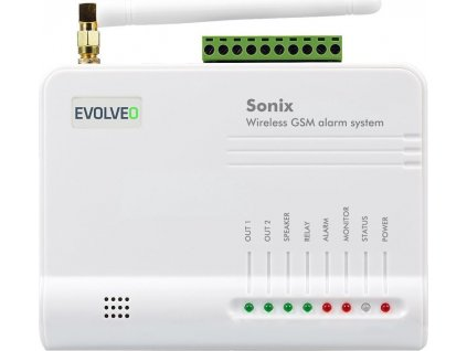 Alarm Evolveo Sonix, bezdrátový, GSM
