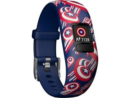 Fitness náramek Garmin Vívofit junior2 Captain America
