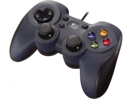 Gamepad Logitech F310 pro PC - černý
