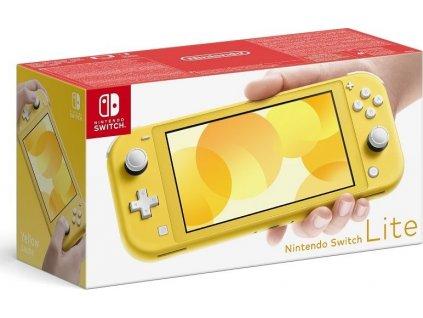 Herní konzole Nintendo Switch Lite - žlutá