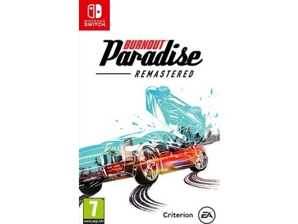 Hra Nintendo SWITCH Burnout Paradise Remastered