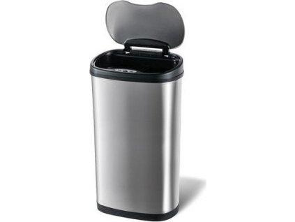 Bezdotykový odpadkový koš Toro 270472 na tříděný odpad, objem 50 l