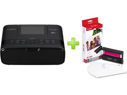 CANON Selphy CP-1300 Black + KP-36IP