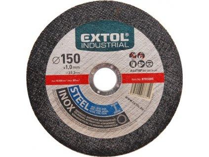 EXTOL 8701000 kotouč řezný na ocel/nere