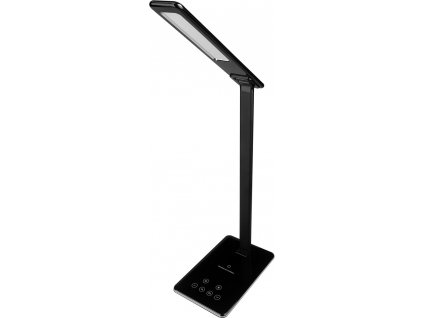 RTL 198 stm.LED lampa černá Qi 5W RETLUX