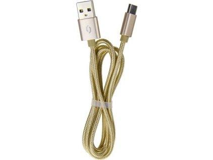 ALI datový kabel lightning,zlatý DAKT007