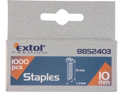 EXTOL 8852404 hřebíky, balení 1000ks, 1