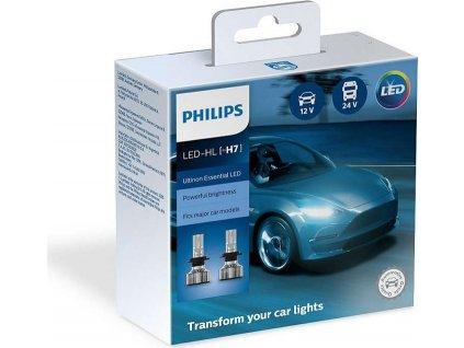 Autožárovka Philips LED H7 Ultinon Essential 2 ks