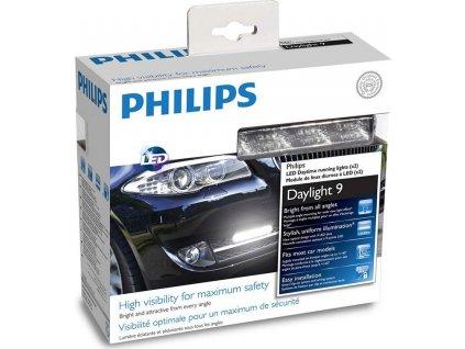 Autožárovka Philips LED DayLight 9, 2 ks
