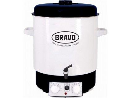 Bravo B-4514 s ventilem smalt bílý