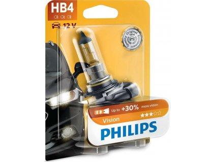 Autožárovka Philips HB4 Vision 1 ks
