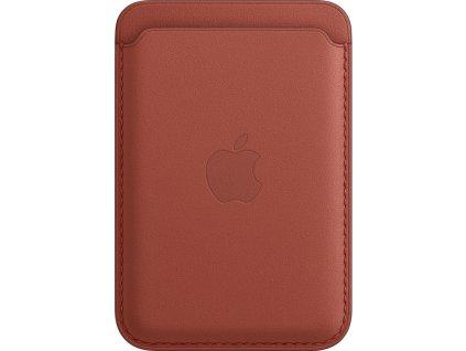 Apple kožená peněženka s MagSafe k iPhonu - Arizona
