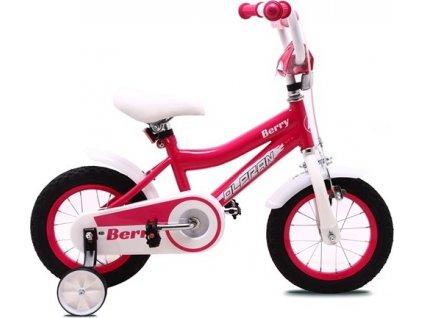 """Olpran Berry 12"""" růžová/bílá"""