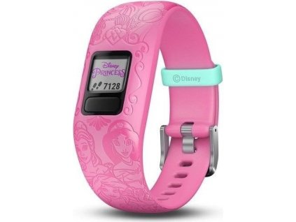Fitness náramek Garmin Vívofit junior2 Disney Princess Pink