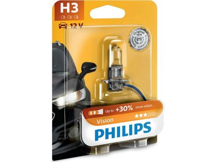 Autožárovka Philips H3 Vision 1 ks