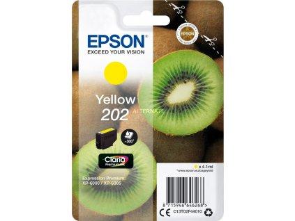 202 Yellow Premium Ink EPSON