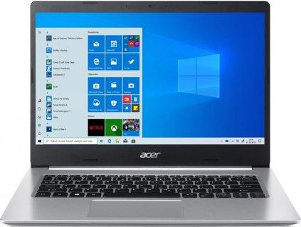 """Ntb Acer Aspire 5 (A514-53-5195) i5-1035G1, 14"""", Full HD, RAM 8GB, SSD 512GB, bez mechaniky, Intel UHD Graphics, W10 Home  - stříbrný"""