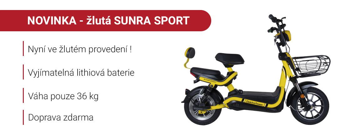 Elektrická koloběžka Sunra Sport Elektropower