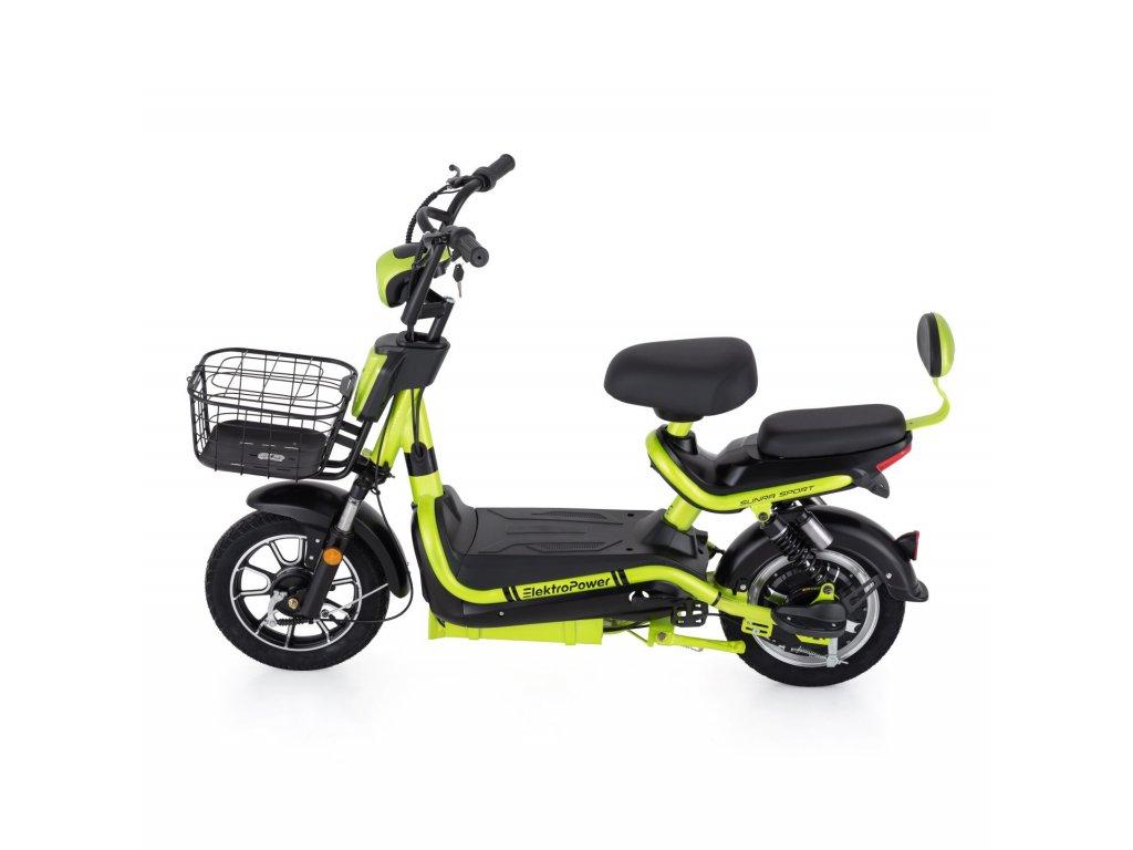 Elektrická koloběžka Sunra Sport Elektropower modrá