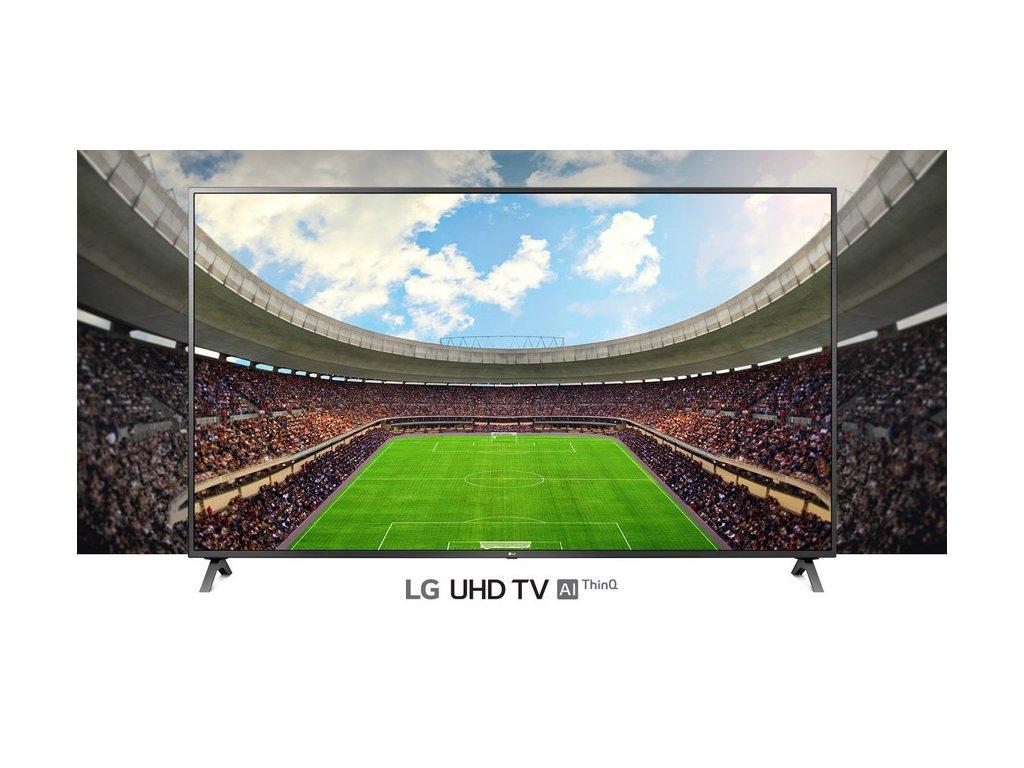 """Televize LG 43UN8100, úhlopříčka 43"""" (108 cm), 4K UHD, černá  + 50x respirátor zdarma"""