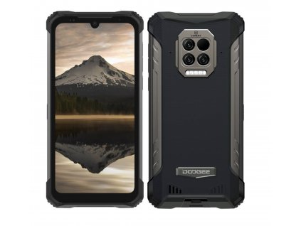 Doogee S86 PRO - integrovaný osobní teploměr + obří 8500 mAh baterie  + Záruka 30 měsíců + DOPRAVA ZDARMA