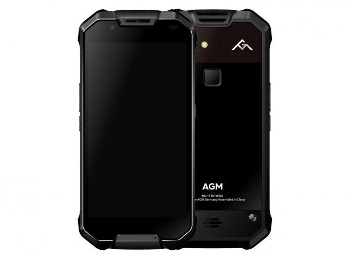 AGM X2 6GB/64GB LCD SUPER AMOLED 6000mAh  + Speciální plovoucí vodní pouzdro + autonabíječka