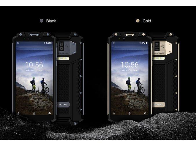 """Oukitel WP2 IP68 NFC 4GB/64GB LCD IPS 6""""  + OTG+ redukce na 3,5mm jack+ Záruka 32 měsíců+ Doprava Zdarma"""